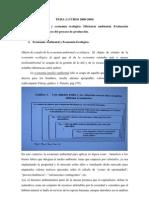 Economia Ambietal y Econmia Ecologica