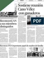 11-05-11 Sostiene reunión Cano Velez con Ganaderos