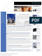 Power Transformer Articles - Power Transformer Co