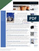 Power Transformer Articles - Power Transformer Co