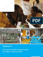 Volume 4 - Entrepreneurship Programming for Urban Youth Centres
