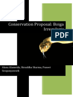 Conservation Proposal