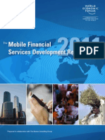 The Mobile Financial Services Development Report 2011