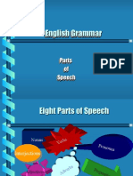 Parts of Speech, English Grammar (Ppt)