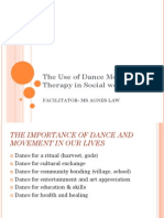 The Use of Dance Movement Therapy in Social Work
