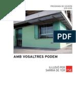 Programa Electoral PSC Sarrià de Ter Municipals 2011