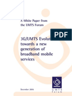 Multimedia PDFs Papers 3G UMTS Evolution White Paper Dec 2006