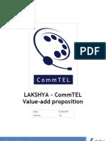 LAKSHYA CommTEL ValueAdd Document