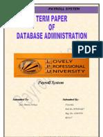 DBA Term Paper 2003
