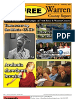 The Mid May, 2011 edition of Warren County Report