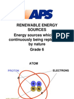 Grade Renewable Energy Sources