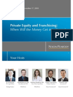 Franchise Private Equity Webinar 11 2010