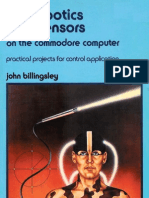 DIY Robotics and Sensors on the Commodore Computer