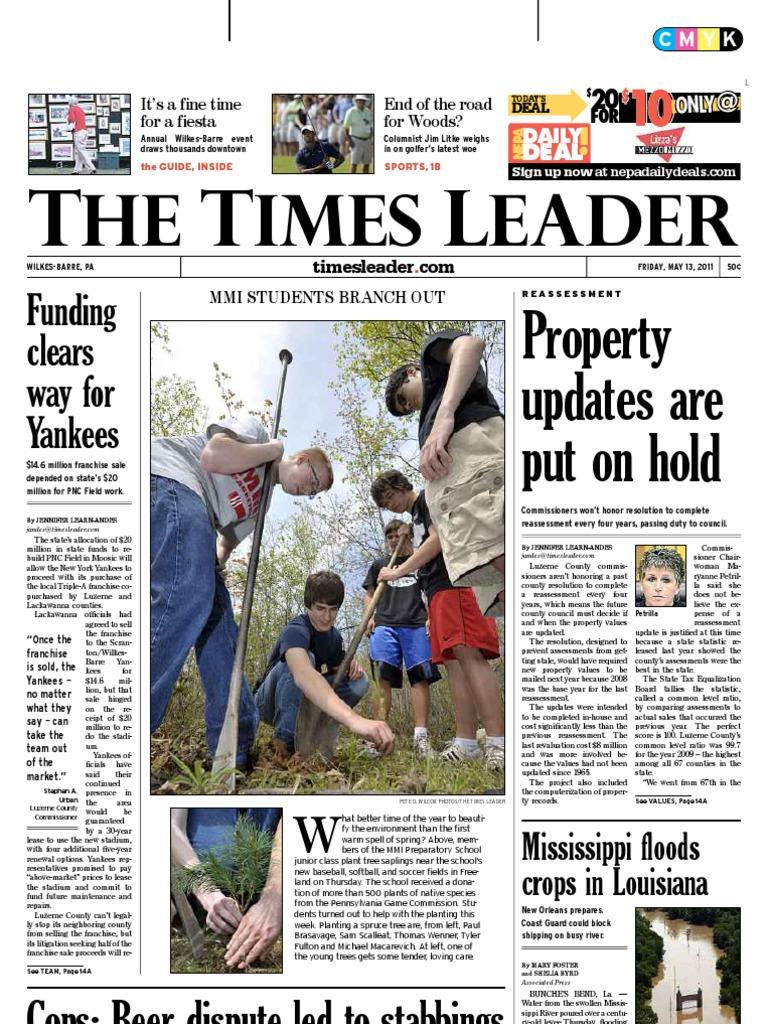 Times Leader 05 13 2011 Stroke Muammar Gaddafi En Ji By Palomino Ashlee Wallet M