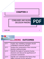 Chapter 3 -Consumer Decision Making