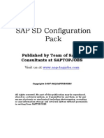 SAP Blling Configuration