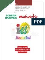 Programa Electoral 2011 Villanueva Ariscal