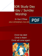 Christianity - Saturday Sunday Worship