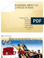 Macro-Economic Impact of Bollywood in India