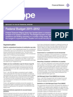 Inscope Federal Budget May 2011