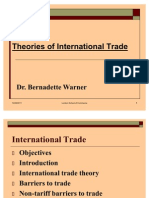 Lecture Two Presentation on Theories of International Trade