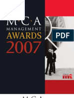 2007 Management Winners