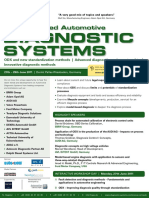 3rd Advanced Automotive Diagnostic Systems