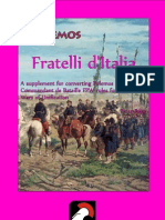 Fratelli D'Italia Wargame Rules by Polemos