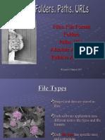 Files Paths Folders URLs