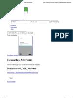 Descartes Albtraum | Thomas Metzinger und das Verschwinden des Subjekts | GRIN | Seminararbeit. Diplomarbeit, Referat, Hausarbeit, Bachelorarbeit, Masterarbeit veröffentlichen.
