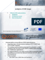 6.3 Different ESB Implementations
