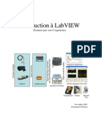 LabVIEW - Tp A1 - 2007