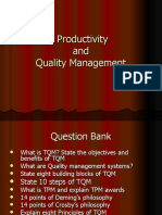 Productivity and Quality Mgmt v2