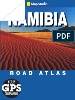 Namibia Road Atlas. ISBN 9781770261693