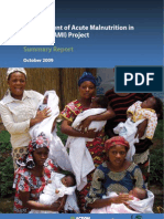 MANAGEMENT OF ACUTE MALNUTRITION IN INFANTS (MAMI) PROJECT