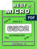 The Best of MICRO 6502 Volume 2