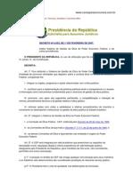 Decreto 6029 de 2007 Administrativo