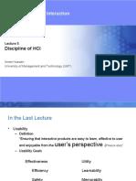 5-Discipline (VU-HCI-LEC)