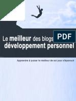 Développement personnel -  le meilleur des blogs