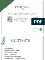 Dna Based Computing