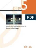 World Heritage Papers 5 - Identification and Documentation of Modern Heritage