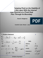 The Effect of Pumping Fluidon the Stability of the Flow in the Layer With the Internal Heat Sources at a Fixed Heat Flux Through Its Boundary