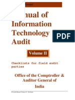 Manual of information technonology audit vol1