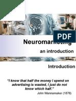 Neuromarketing an Introduction