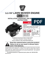 HFT Chinese Lawnmower Engine Manual 96156