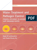 Water Treatment and Pathogen Control Process Efficiency in Achieving Safe Drinking Water Who Drinking Water Quality