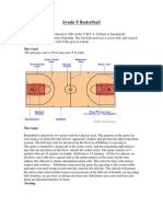 Basketball - Scoring & Rules