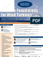 Offshore Foundations for Wind Turbines