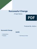 Successful Change v0.1