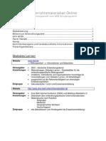 Unterrichtsmaterialien Online